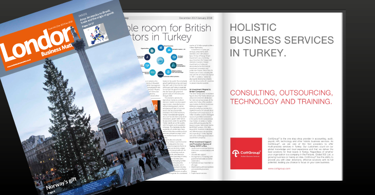 December - January 2018 'inverstment in Turkey' special issue.