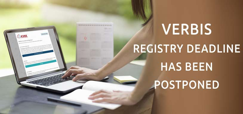 Deadline for the Obligation of VERBİS Registration Has Been Extended