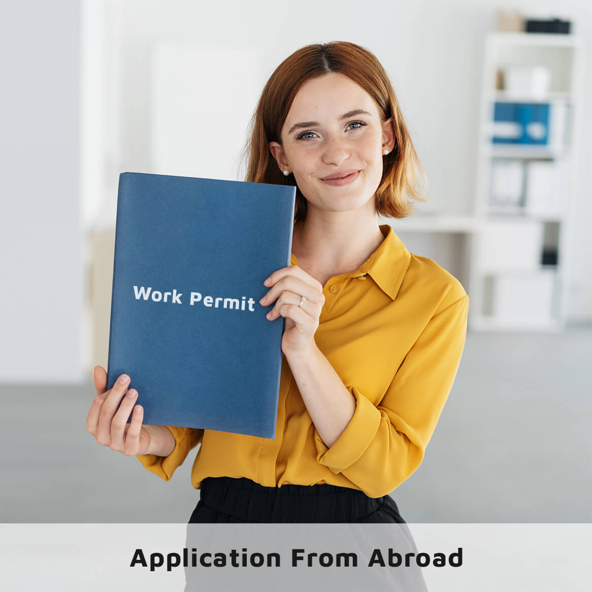 Work Permit Application from Abroad