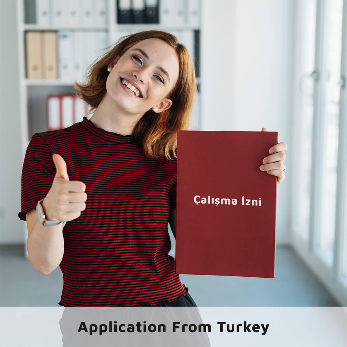 Work Permit Application from Turkey