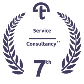 Ranked 7th as Consultancy Service Provider