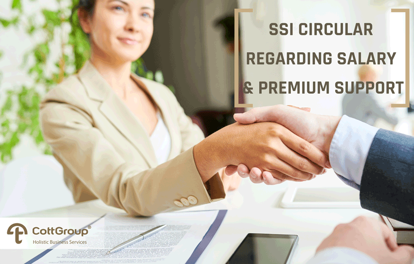 2019/07 SSI Circular Regarding the Salary and Premium Support