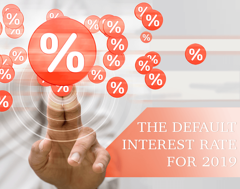 The Default Interest Rate Is Determined for 2019