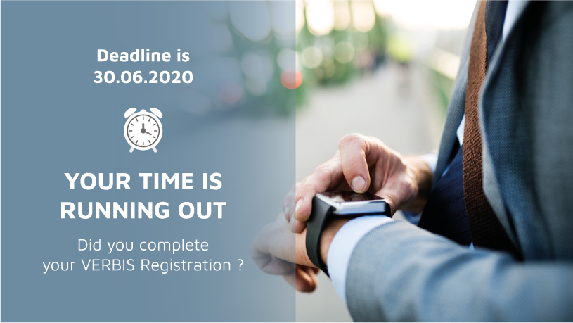 The Deadline for VERBIS Registration is 30.06.2020