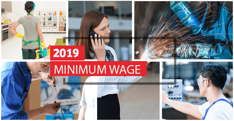 2019 MINIMUM WAGE & THE MINIMUM SUBSISTENCE ALLOWANCE RATES (MSA)