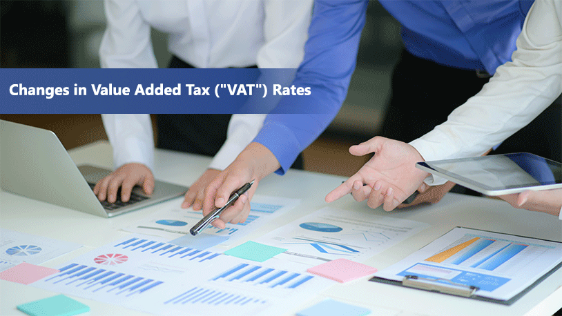 Changes in Value Added Tax (