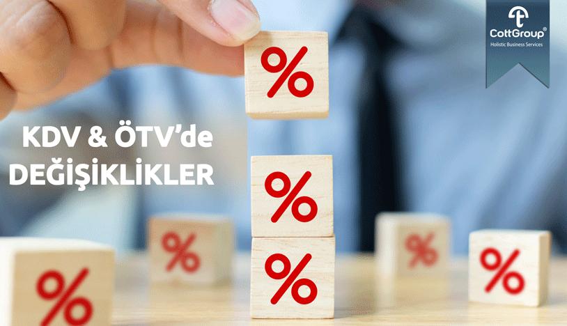 KDV ve ÖTV'de Matrah, Tutar ve Oran Değişikliği