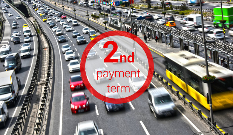 Motor Vehicle Tax Payment for 2019 2nd Period