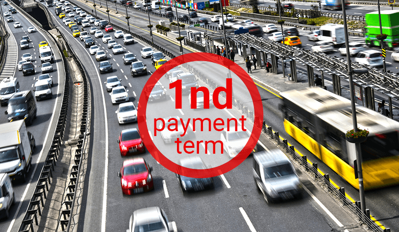 Motor Vehicle Tax Payment for 2019 1st Period