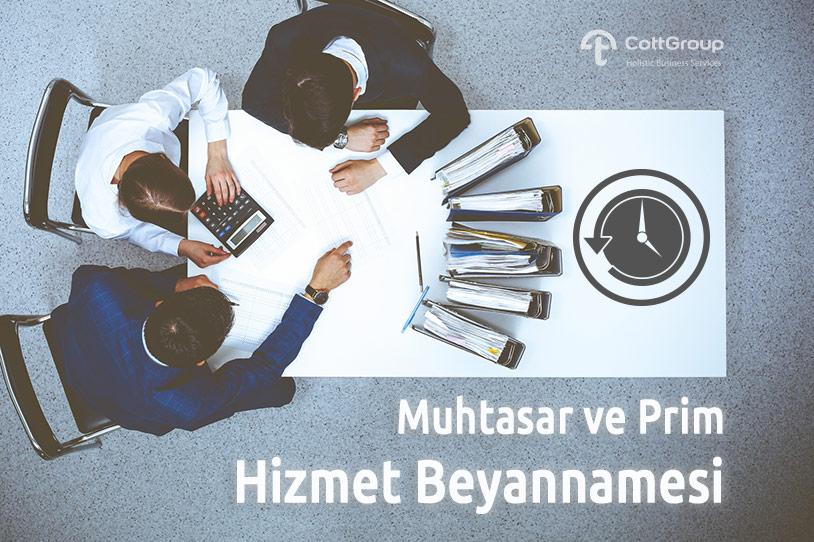 Muhtasar ve Prim Hizmet Beyannamesinin Tüm Türkiye'de Uygulanması 01.01.2020 Tarihine Ertelendi