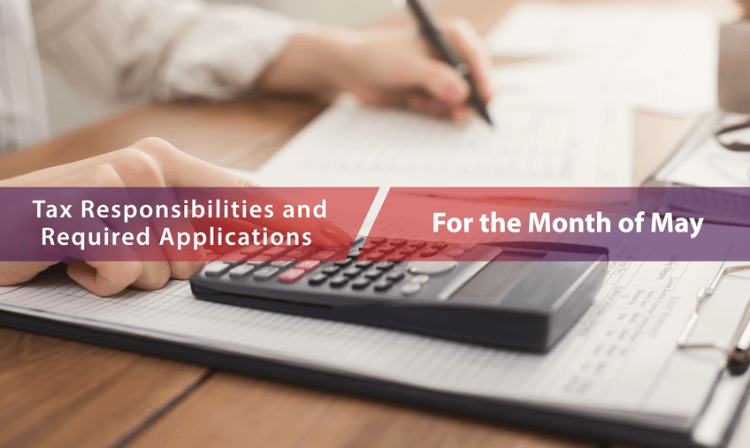 Notice for the Legal Obligations in the Month of May 2021