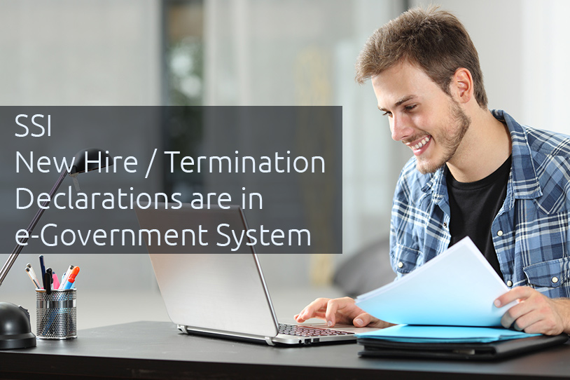 Access to SSI Notification Forms Via E-Government Portal
