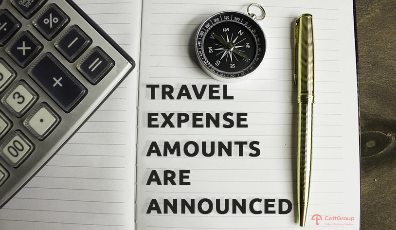 Travel Expense Amounts Exempt From Domestic and Foreign Income Tax Are Announced